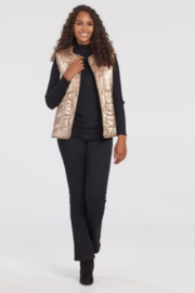Tribal  Reversible Sherpa Vest - Front cropped