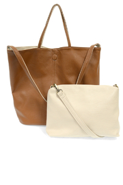 Joy Susan  Reversible slouchy tote - Front full body