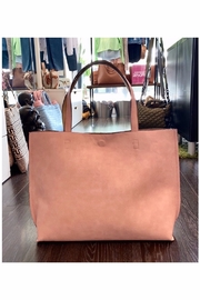 Allie & Chica Reversible Tote in Pink/Natural - Product Mini Image