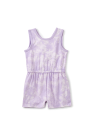 Tea Collection  Reversible Wrap Romper - Sun Dyed In Orion - Product Mini Image