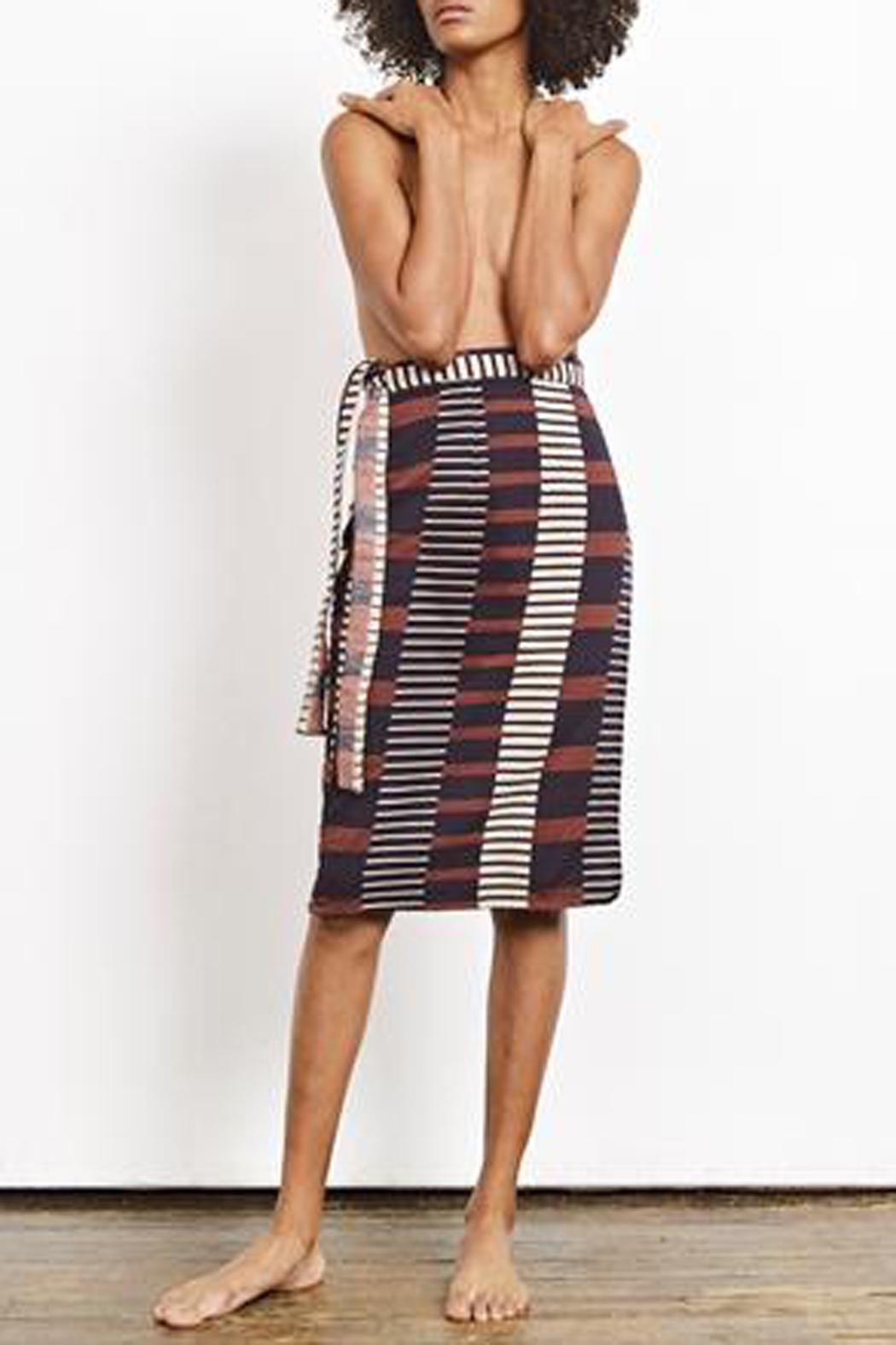 Ace & Jig Reversible Wrap Skirt - Main Image