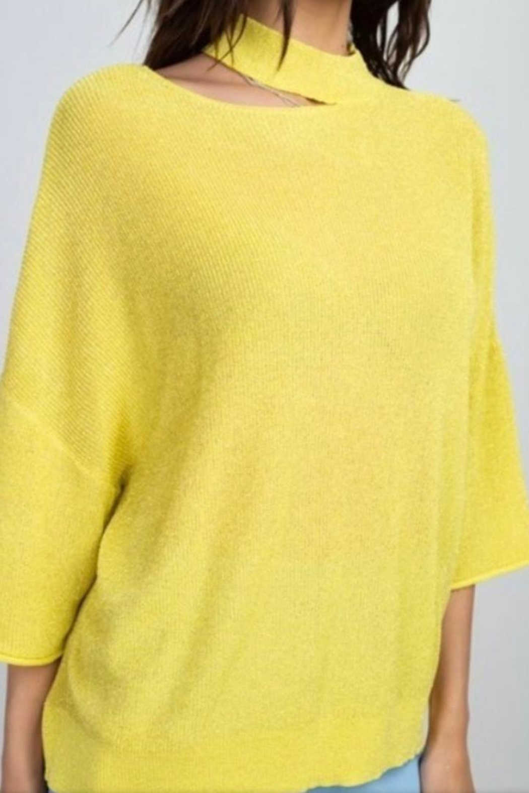 Reveuse Knit Sweater Top - Main Image