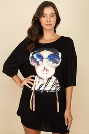 Reveuse Tee Shirt Dress - Product Mini Image
