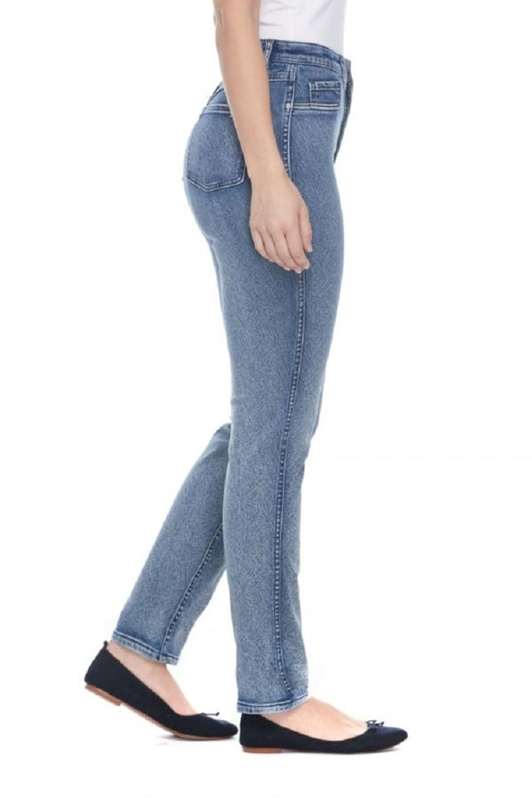 FDJ French Dressing Revsible Print Jean - Side Cropped Image