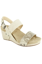 Not Rated Revy Double-Band Wedges - Front cropped