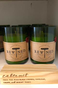 Rewined Cabernet Candle - Alternate List Image