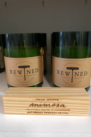 Rewined Mimosa Candle - Front cropped