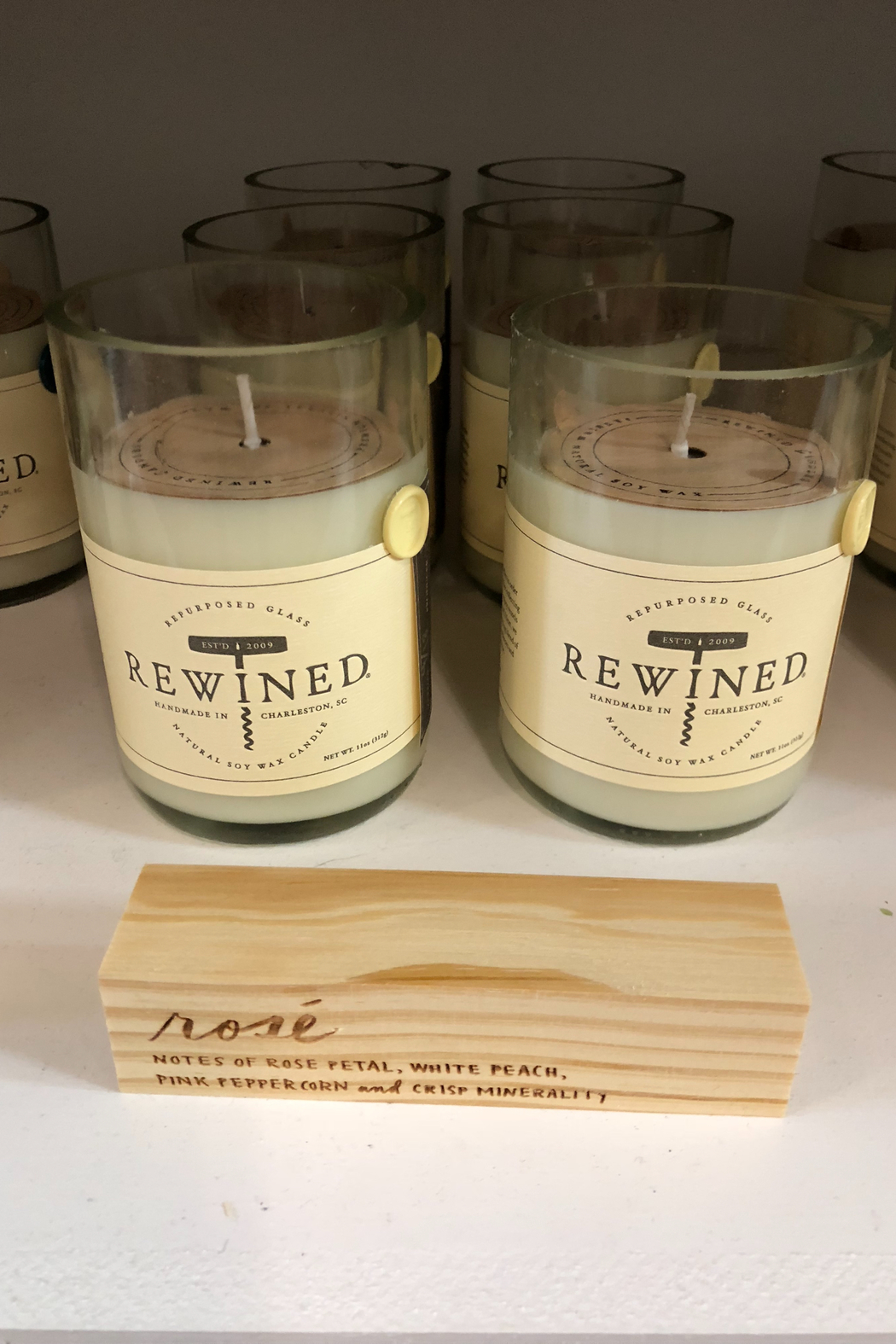 Rewined Rosé Candle - Main Image