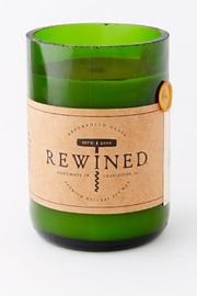 Rewined Candles Sauvignon Blanc Candle - Front cropped