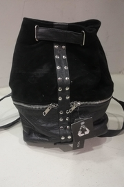 BAM Reworked Leather Backpack - Front full body