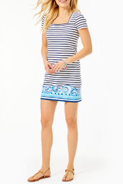 Lilly Pulitzer Rexa T-Shirt Dress - Back cropped