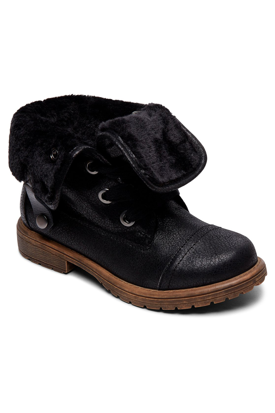 Roxy RG Bruna Lace Up Boots - Front Cropped Image