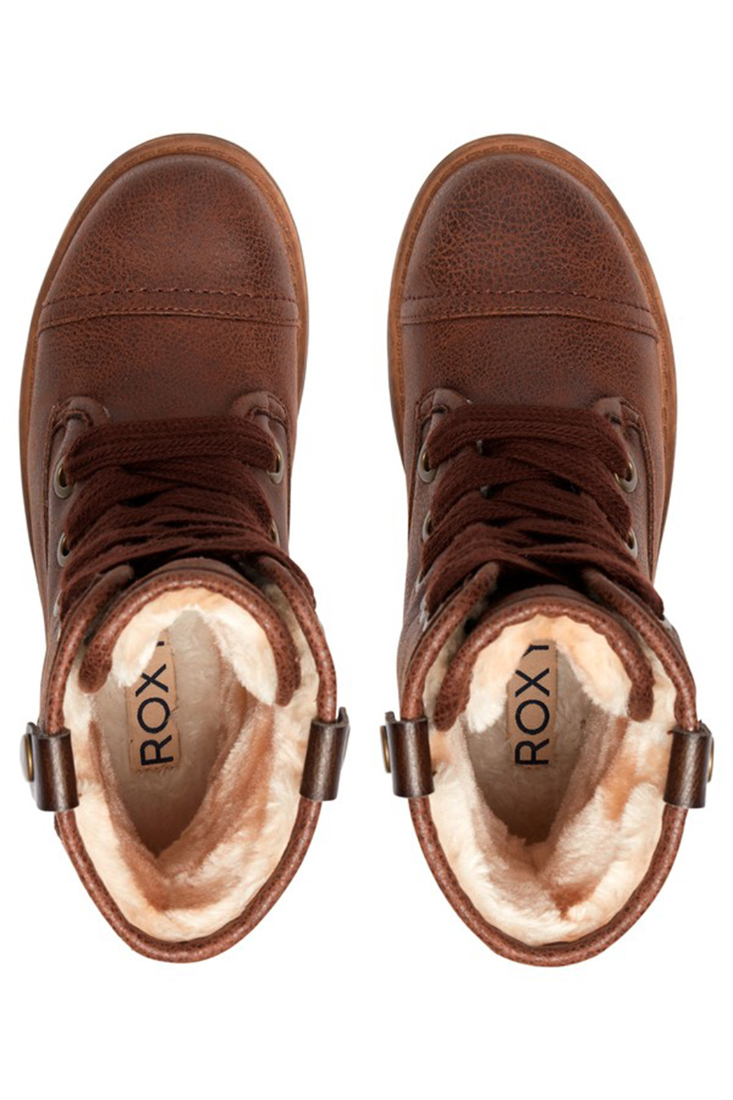 Roxy RG Bruna Lace Up Boots - Front Full Image
