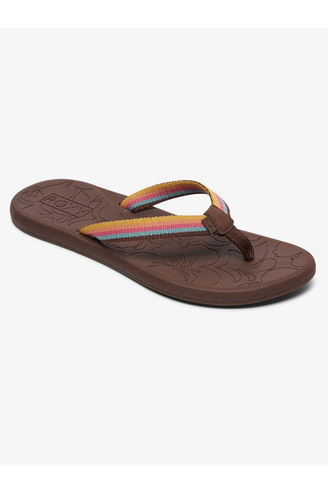 Roxy RG Colbee Flip Flops - Front Full Image