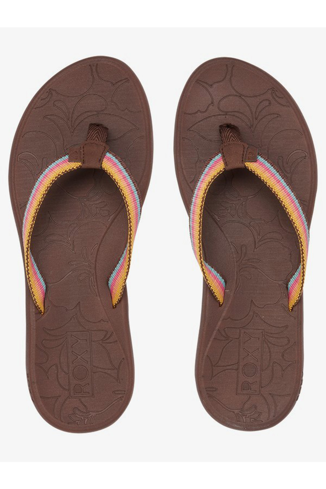 Roxy RG Colbee Flip Flops - Front Cropped Image