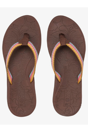 Roxy RG Colbee Flip Flops - Front cropped