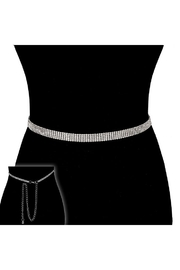 Something Special Rhinestone 5-Line Belt - Product Mini Image
