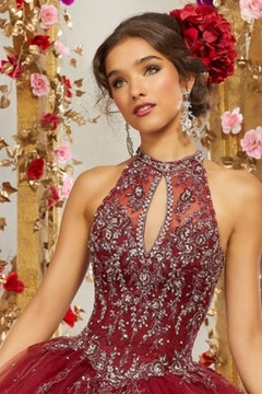 Morilee Rhinestone and Crystal Beaded Embroidery on a Princess Tulle Ballgown - Alternate List Image