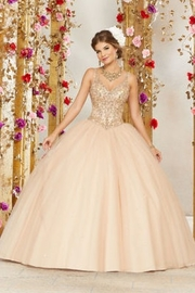 Morilee Rhinestone and Crystal Beading on a Tulle Ballgown - Product Mini Image