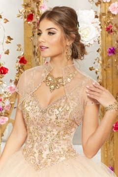Morilee Rhinestone and Crystal Beading on a Tulle Ballgown - Alternate List Image