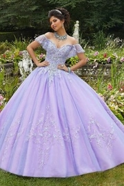 Morilee Rhinestone and Tulle Ballgown - Product Mini Image