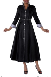 Tally Taylor Rhinestone Clergy Robe - Front cropped