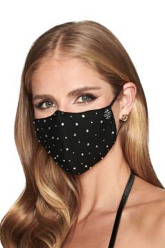 Faviana Rhinestone Face Mask - Alternate List Image