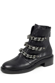 Lola Cruz Rhinestone Leather Boot - Product Mini Image