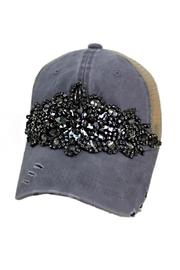 Nadya's Closet Rhinestone Trucker Hat - Product Mini Image