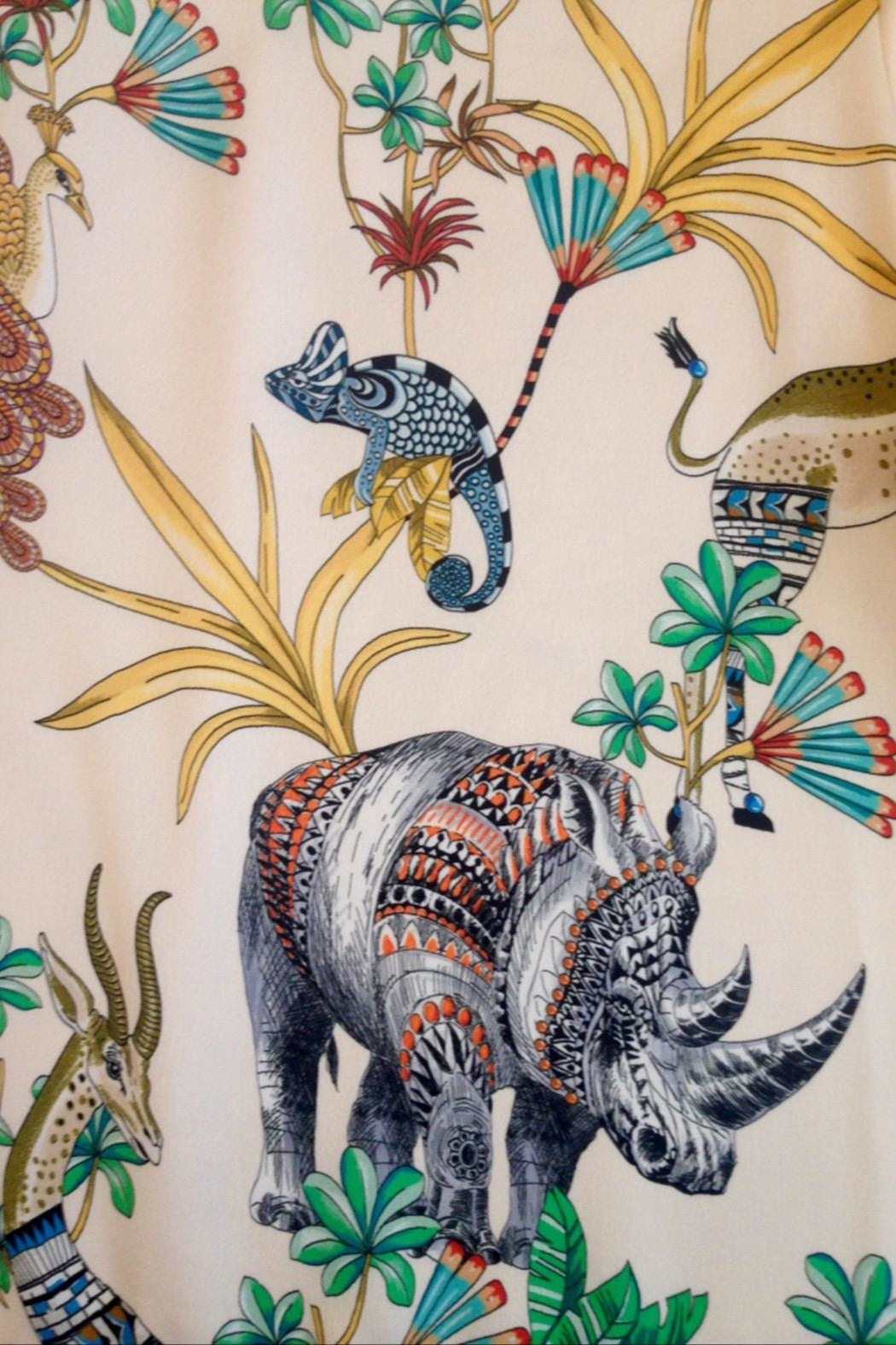 Dame Blanche Anvers Rhino Pants - Back Cropped Image