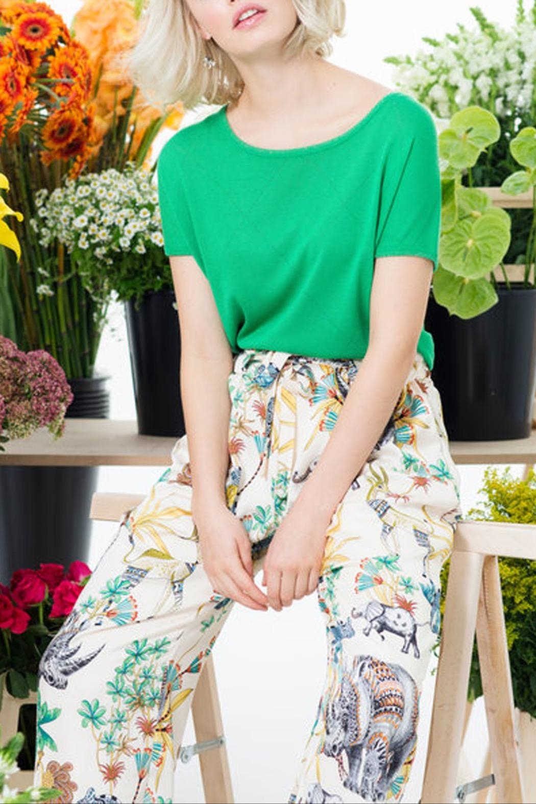 Dame Blanche Anvers Rhino Pants - Side Cropped Image