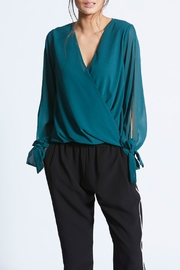 Angeleye London Rhoda Wrap Blouse - Product Mini Image