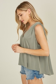 blue blush Rhode Tank - Front full body