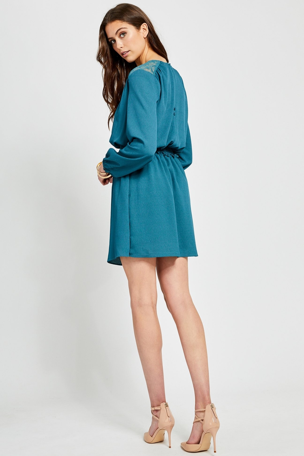 Gentle Fawn Rhone Cinch Waist Dress - Side Cropped Image