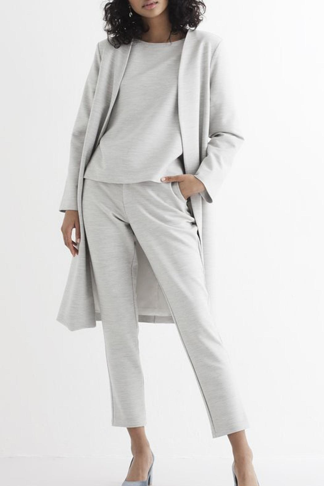 RHUMAA Slim Fit Pants - Front Cropped Image