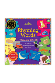 Eeboo Rhyming Words Puzzle Pairs - Product Mini Image