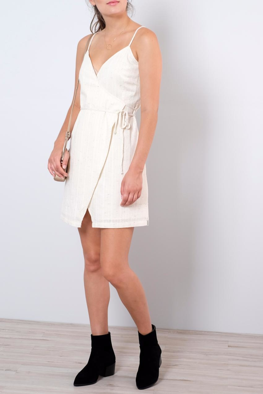 Rhythm  Fitted Wrap Dress - Main Image