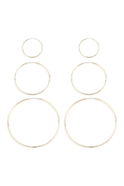 Riah Fashion 25/40/60mm-Mixed Hoop-Earrings - Product Mini Image