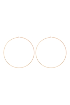 Riah Fashion 2mm-Wire-100mm-Hoop - Product List Image