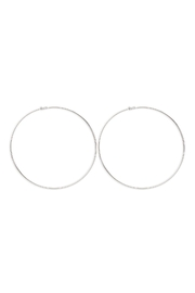 Riah Fashion 2mm -Wire-120mm-Hoop - Front cropped