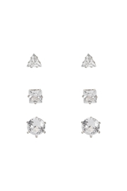 Riah Fashion 3-Pair-Earring - Front cropped