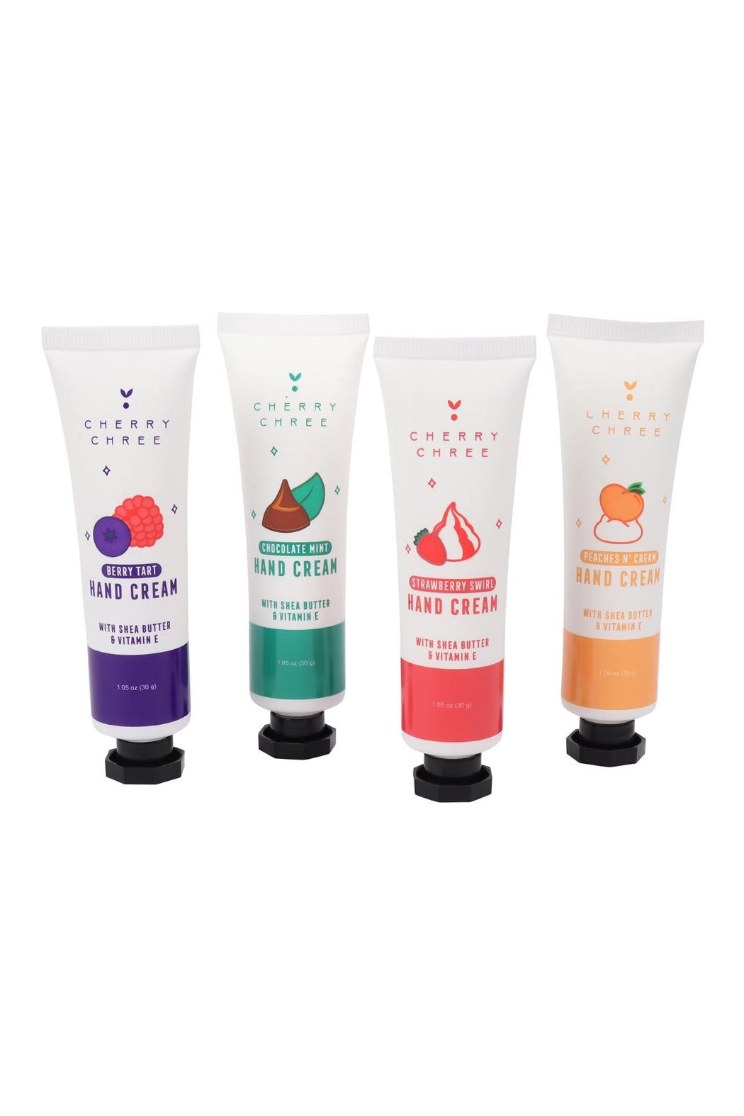 Riah Fashion 4pcs-In-A-Box-Just-Desert-Hand-Creams-/W-Shea-Butter-And-Vitamin-E-Set/ - Side Cropped Image