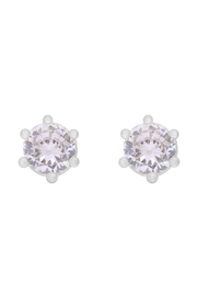 Riah Fashion 5mm-Cubic-Zirconia-Stud-Earrings - Front cropped
