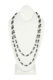 Riah Fashion 60-Inches Glass-Coated Real-Pearl-Necklace - Product Mini Image