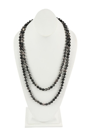 Riah Fashion 60-Inches Marble-Beads Long-Necklace - Product Mini Image