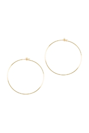 Riah Fashion 60mm Wire Hoop Earrings - Product Mini Image