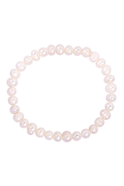 Riah Fashion 6mm-Freshwater-Pearl-Bracelet - Front cropped