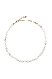 Riah Fashion 6mm Natural-Stone-Necklace - Product Mini Image