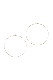 Riah Fashion 80mm Wire Hoop Earrings - Product Mini Image