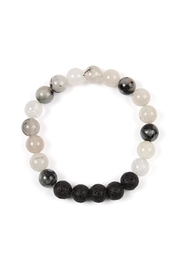 Riah Fashion 8mm Natural-Stone-Bracelet - Product Mini Image